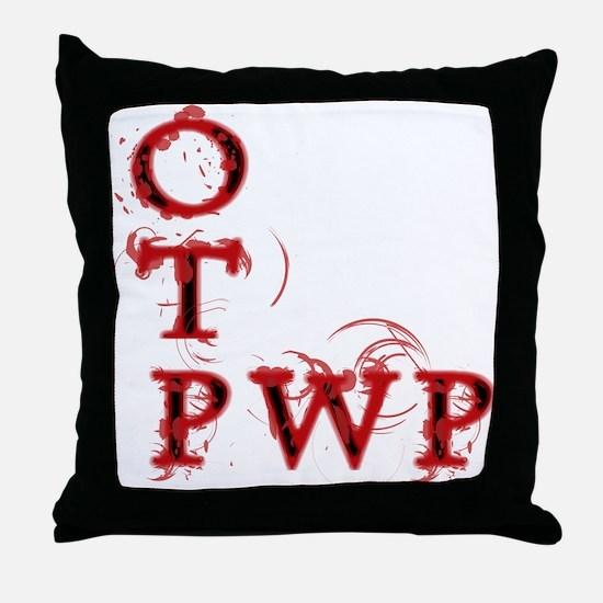 OTP PWP Throw Pillow