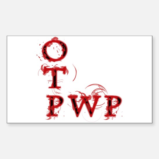OTP PWP Rectangle Decal