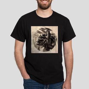 WPA Federal Art Project - Builder Dark T-Shirt