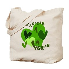A Passion for Green Reusable Tote Bag
