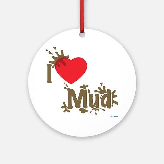 Love Mud Ornament (Round)