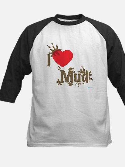 Love Mud Kids Baseball Jersey