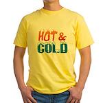 Hot & Cold Yellow T-Shirt
