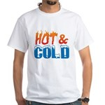 Hot & Cold White T-Shirt