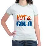 Hot & Cold Jr. Ringer T-Shirt