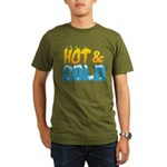 Hot & Cold Organic Men's T-Shirt (dark)