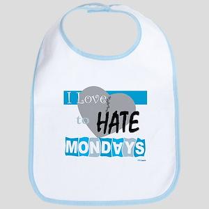 Hate Mondays Bib