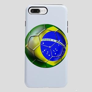 Brazil Soccer Ball iPhone 7 Plus Tough Case