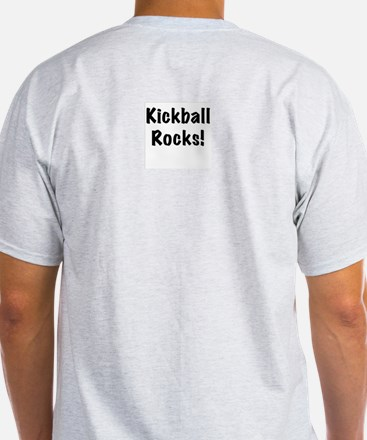 Kickball Ash Grey T-Shirt