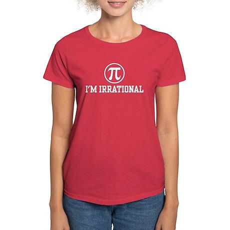 I'm Irrational PI Women's Dark T-Shirt