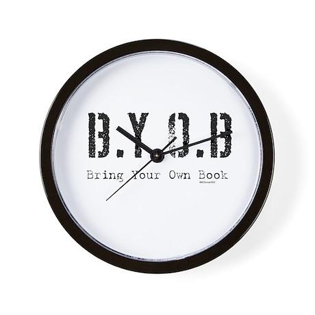 B.Y.O.B. Wall Clock