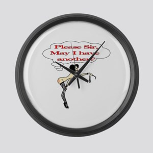 Please Sir, may I have anothe Large Wall Clock
