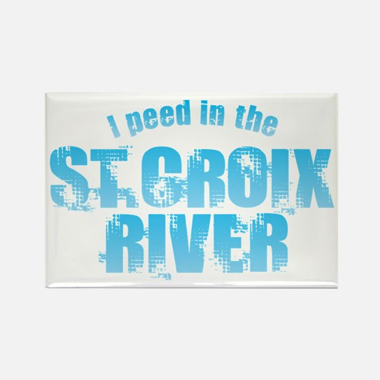 I Peed in the St. Croix River Magnets