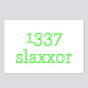 1337 slaxxor Postcards (Package of 8)