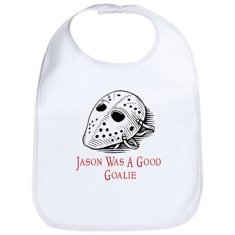 Jason Was A Good Goalie Bib