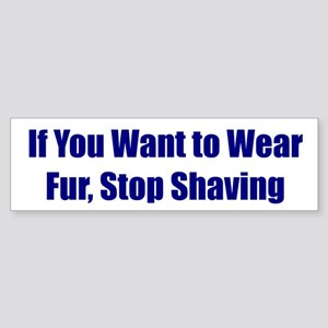 If You Want to Wear Fur, Stop Shaving