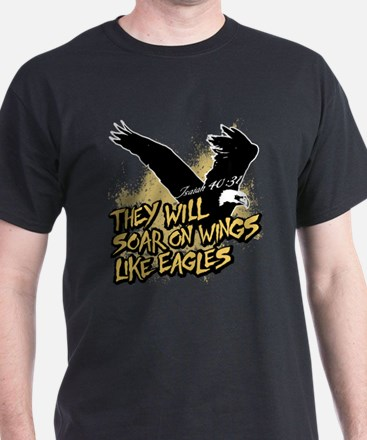 Soar on Wings like Eagles T-Shirt