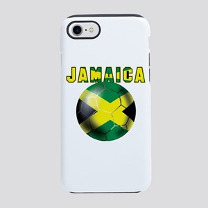 Jamaican Football iPhone 7 Tough Case