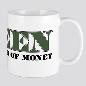 Green Money Mug