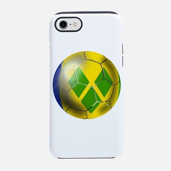 Saint Vincent Soccer Ball iPhone 7 Tough Case