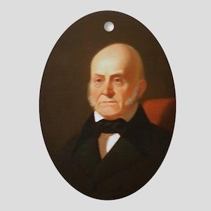 John Quincy Adams Christmas Ornament