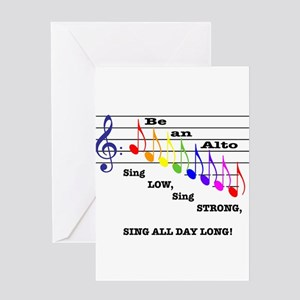 Be An Alto Greeting Cards