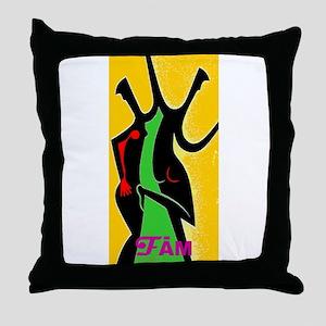Dance Fame Throw Pillow