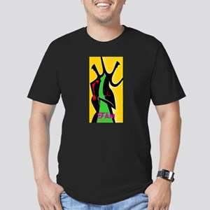 Dance Fame Men's Fitted T-Shirt (dark)