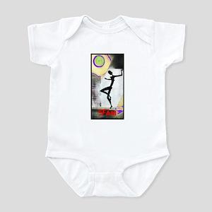 Gril Dance Fame Infant Bodysuit