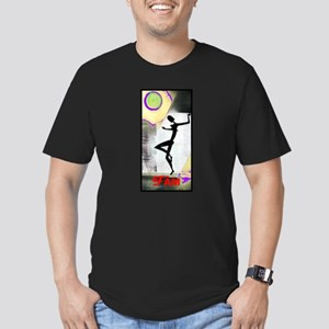 Gril Dance Fame Men's Fitted T-Shirt (dark)