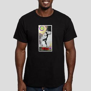 Girl Dance Fame 2 Men's Fitted T-Shirt (dark)