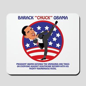 Obama Defends Uninsured Mousepad