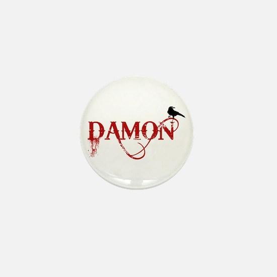 Damon Crow Mini Button