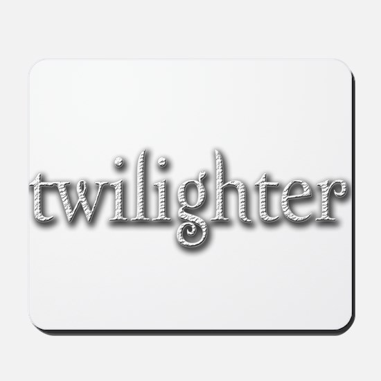 Twilighter (White) Mousepad