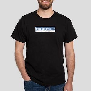 Port Folio Weekly Black T-Shirt