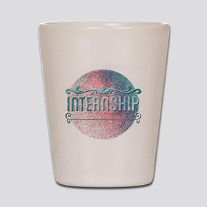 Internship Shot Glass