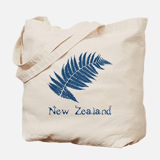 New Zealand Leaves Tote Bag