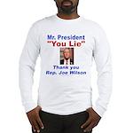 Joe Wilson Long Sleeve T-Shirt