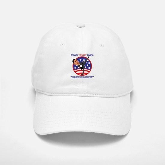 No Obama BIrth Certificate Baseball Baseball Cap