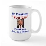 Joe Wilson Large Mug