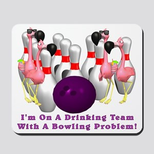 Bowling Problem Mousepad