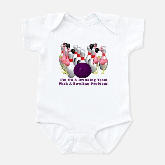 Bowling Problem Infant Bodysuit