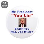"""Joe Wilson 3.5"""" Button (10 pack)"""