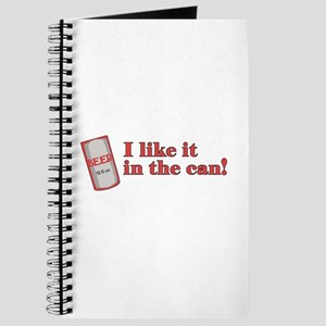 I Like it in the Can Journal