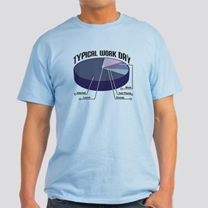 Typical Work Day Light T-Shirt
