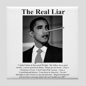 Liar, Liar! Tile Coaster