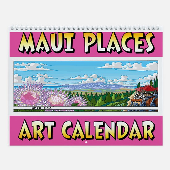 Maui Places Wall Calendar