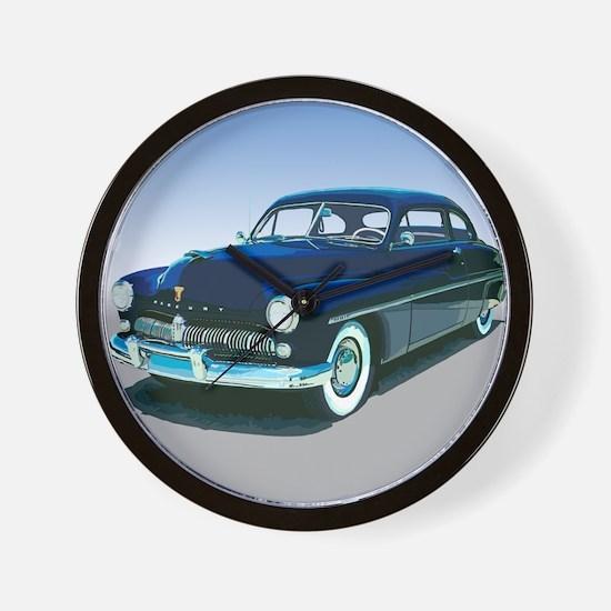 The 1949 Bathtub Coupe Wall Clock