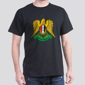 Syria Coat Of Arms Black T-Shirt