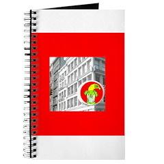 Santa Dog Christmas Holidays Journal